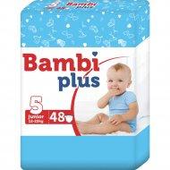 Подгузники детские «Bambi plus» 12-25 кг, размер 5, 48 шт.