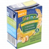 Каша овсяная «Heinz» банан, 200 г.