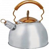 Чайник «Mallony» из нержавеющей стали, 2.5 л.