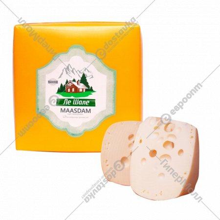 Cыр полутвердый «Маасдам» 45%, 1 кг., фасовка 0.3-0.4 кг