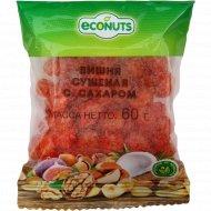 Вишня сушеная «Econuts» с сахаром, 60 г.
