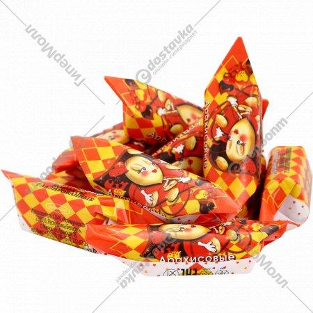 Конфеты глазированные «Арахисовые» 1 кг., фасовка 0.3-0.4 кг