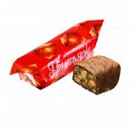 Конфеты «Грильяж в шоколаде» 1 кг, фасовка 0.23-0.25 кг