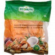 Манго консервированное «Econuts» обезвоженное с сахаром, 150 г.