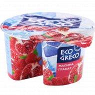 Йогурт греческий «Eco greco» малина-гранат 2%, 130 г
