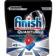 Капсулы для посудомоечной машины «Finish» анти-жир и супер-блеск, 45 шт.