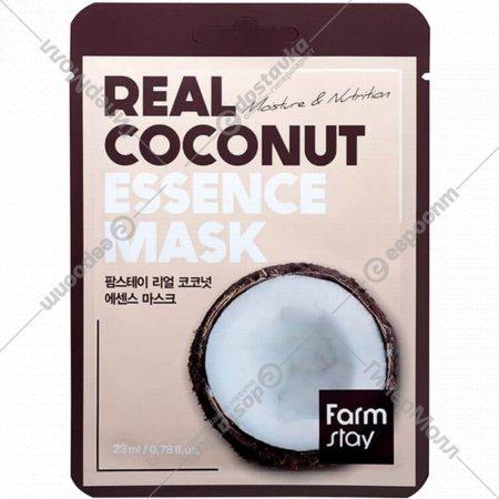 Маска тканевая для лица с экстрактом кокоса, 23 мл.