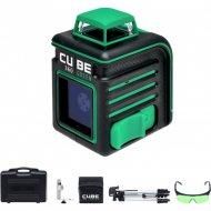Лазерный уровень «ADA instruments» Cube 360 Green Ultimate A00470.