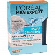 Лосьон после бритья «L'oreal Men Expert» комфорт 100 мл.