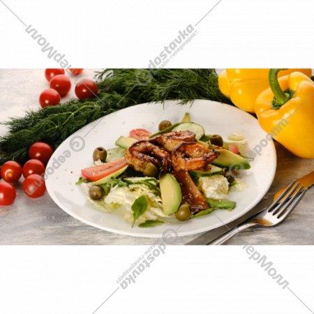 Салат с креветками «Чезаре» 1/180/20.