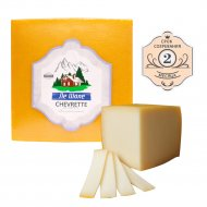 Твердый сыр «Chevrette» 2 месяца созревания, 45%, 1 кг., фасовка 0.77-1 кг