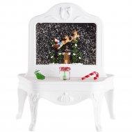 Светодиодная фигура «Neon-Night» 501-064 Столик с эффектом снегопада.