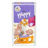 Подгузники для детей «Bella Baby Happy» mini 3-6 кг, 38 шт.