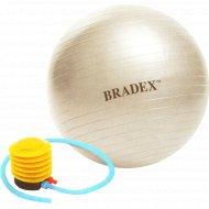 Мяч для фитнеса с насосом.