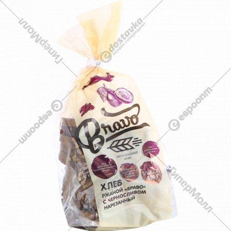 Хлеб «Браво» с черносливом, 350 г.