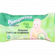 Детские влажные салфетки «Pamperino mini» 15 шт.