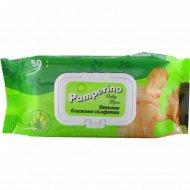 Детские влажные салфетки «Pamperino» 50 шт.