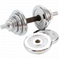Гантель разборная никелированная 15 кг, A051.