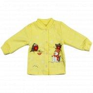 Кофточка детская КЛ.050.001.0.059.055, желтый.
