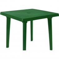 Садовый стол «Алеана» зеленый, 80х80 см