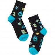 Носки детские «Tip-Tot» черные, размер 16.
