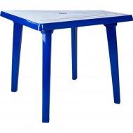 Стол садовый «Алеана» темно-синий, 80х80 см