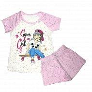 Пижама для девочки «Miss Beautiful» MB6445.