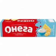 Чипсы «Онега» пластинки, сыр со сметаной, 90 г.