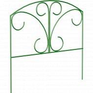 Забор садово-парковый «Бабочка» (труба электросварная 10 мм, краска).