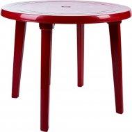 Садовый стол «Алеана» вишневый, 90 см