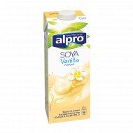 Напиток соевый «Alpro Soya» со вкусом ванили, 1 л.