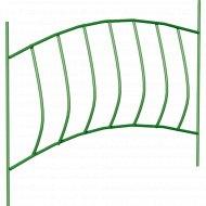 Забор садово-парковый «Волна» (труба электросварная 10 мм, краска).