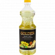 Масло подсолнечное «Golden» рафинированное,0.8 л.