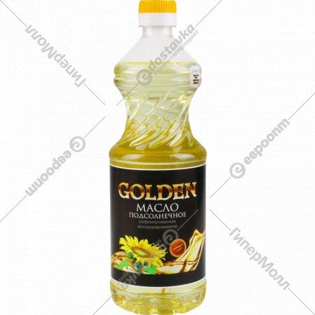 Масло подсолнечное «Golden» рафинированное, 800 мл