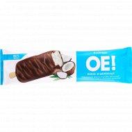 Мороженое эскимо «ОЕ!» кокос в шоколаде, 12%, 66 г