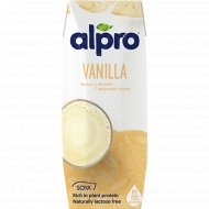 Напиток соевый «Alpro Soya» со вкусом ванили, 250 мл.