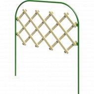 Забор садово-парковый «Марлен» (труба электросварная 10 мм, краска).
