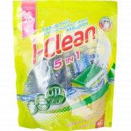 Таблетки для посудомоечных машин «I-Clean» 5 in 1, 20 шт