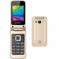 Мобильный телефон «Texet» TM-204, шампань.