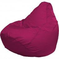 Бескаркасное кресло «Flagman» Груша Макси Г2.2-06, малиновый
