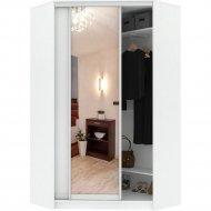 Шкаф-купе «Кортекс-мебель» Сенатор, ШК30 Классика, зеркало, белый
