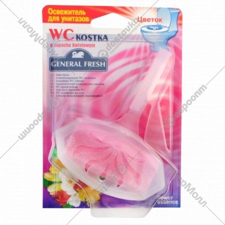 Освежитель для унитаза «WC Kostka» цветок.