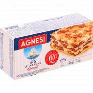 Макаронные изделия «Agnesi» Lasagne, 500 г.