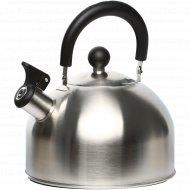 Чайник из нержавеющей стали со свистком, 2.5 л.