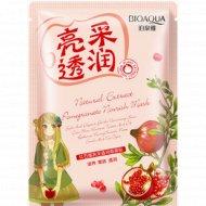 Питательная маска с экстрактом граната «BioAqua» Natural Extract, 30 г.