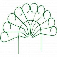 Забор садово-парковый «Павлин» (труба электросварная 10 мм, краска, цвет зелёный).