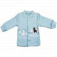 Кофточка детская КЛ.050.001.0.192.055, голубая.
