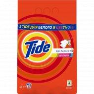 Порошок стиральный «Tide» для белого и цветного, автомат, 4.5 кг.