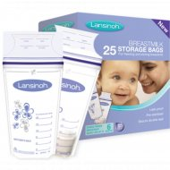 Пакеты для хранения и заморозки грудного молока, 25 шт.