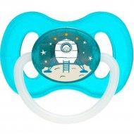 Пустышка «Canpol babies» Космическая, 23/221_blu, 0-6 месяцев